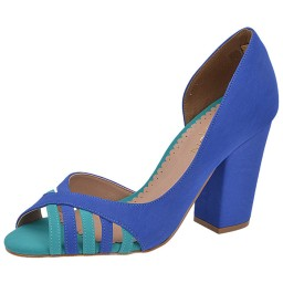 Peep Toe Belmon - 5425 Azul Royal