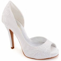 Peep Toe Bordado Belmon 19001