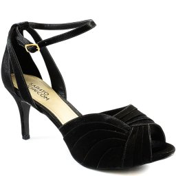 Peep Toe De Festa Cetim Número Especial Sapato Show 14155