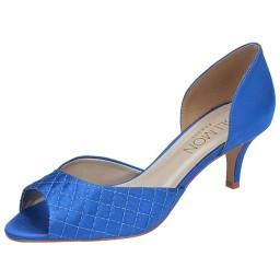 Peep Toe Espadrille Belmon - 23043 Azul Royal - 33 ao 43