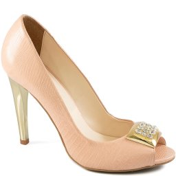 Peep Toe Feminino com Fivela Zariff Shoes 12409