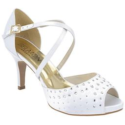 Peep Toe Feminino Hot Fix  Belmon - 14109 - Branco - 33 a 43