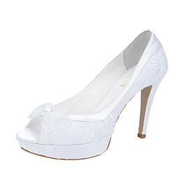 Peep Toe para Noivas Feminino Laço Belmon - 13152 - 33 a 43