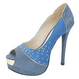 Imagem do produto - Peep Toe Feminino Spikes Belmon - 29-04 - 33 a 43
