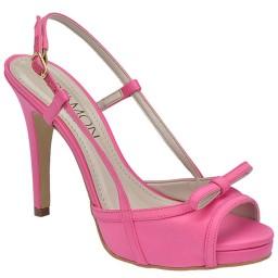 Peep Toe Numeração Especial Belmon - 19037 Fosco Pink