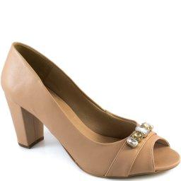 Imagem do produto - Peep Toe Pedrarias Número Grande Sapato Show 1080319