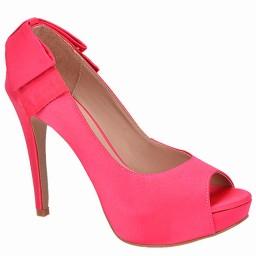 Peep Toe Pink Numeração Especial Belmon - 13208