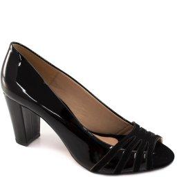 Peep Toe Verniz Numeração Especial Sapato Show 10813e