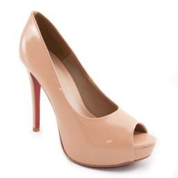 Imagem do produto - Peep Toe Verniz Sapato Show 740416