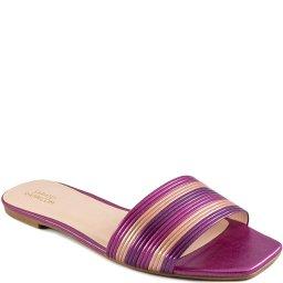 Rasteira Bico Quadrado Numeração Especial Sapato Show 06688