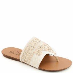 Rasteira Bordada Numeração Especial Sapato Show 230140e