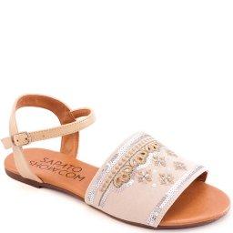 Rasteira Bordada Numeração Especial Sapato Show 271148e