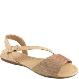 Rasteira Com Brilho Numeração Especial Sapato Show 5023902