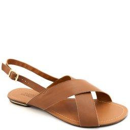Rasteira Couro Numeração Especial Sapato Show 12004e