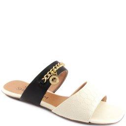Imagem do produto - Rasteira Feminina Double Straps Sapato Show 233005