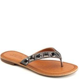 Rasteira Metalizada Numeração Especial Sapato Show 393e