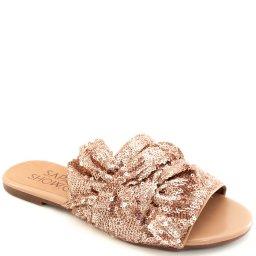 Rasteira Paetê Numeração Especial Sapato Show 271152e