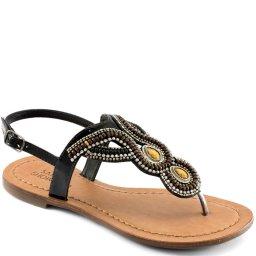 Rasteira Pedrarias Número Grande Sapato Show 628e