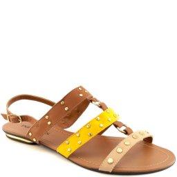 Rasteira Tachas Numeração Especial Sapato Show 1827