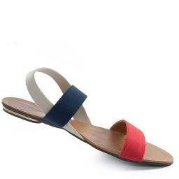 Rasteira Tiras de Elástico Sapato Show 632