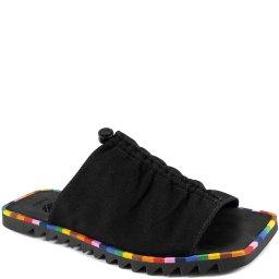 Rasteira Slide Vira Rainbow Bico Quadrado Farm 10001004