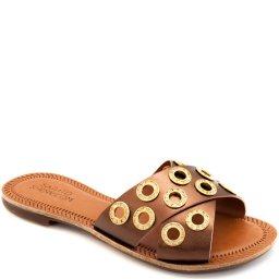 Rasteira Tiras Transpassadas Sapato Show 432