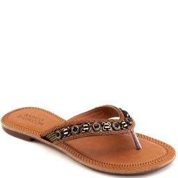 Rasteira Trançada Numeração Especial Sapato Show 394e