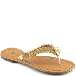 Rasteirinha Strass Numeração Especial Sapato Show 636e