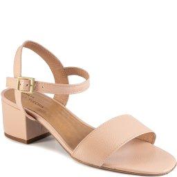 Sandália Block Heel Numeração Especial Sapato Show 2568378