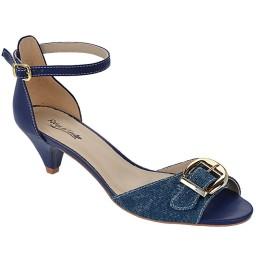 Sandália em Jeans Numeração Especial Skippy - 2700 Jeans