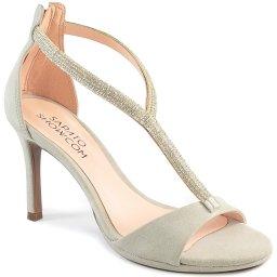 Imagem do produto - Sandália Feminina Com Strass Verão 2020 Sapato Show 501013