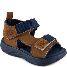 Sandália Infantil De Tiras De Velcro Verão Bugazoo 60029