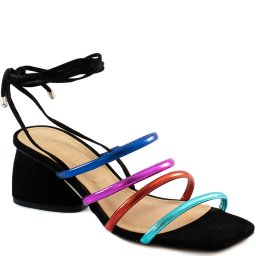 Sandália Lace Up Malibu Square Toe 2020 Vicenza 805005