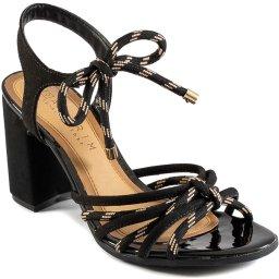 Sandália Lace Up Tiras Finas Ramarim Total Comfort 2041202