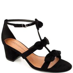 Sandalia Laços Camurça Cecconello 250001