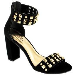 Sandália com Spikes Numeração Especial Sapato Show 1260191e