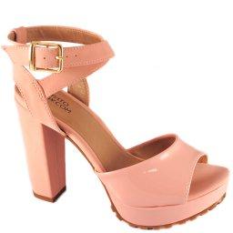 Sandália Verniz Numeração Especial Sapato Show 1120154e