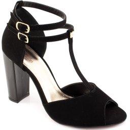Sandália Nobuck Numeração Especial Sapato Show 1260031e