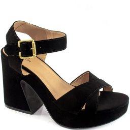 Sandália Nobuck Numeração Especial Sapato Show 1370206e
