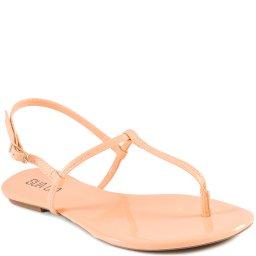 Sandália Rasteira de Tiras Verão 2022 Sapato Show 12527