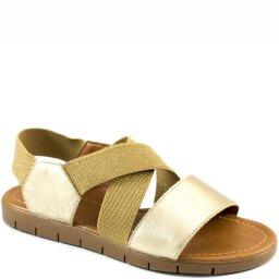 Sandália Rasteira Elástico Numeração Especial Sapato Show 13449