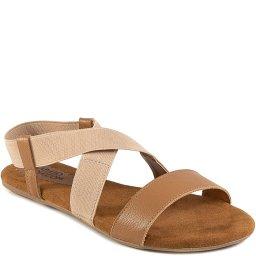 Sandália Rasteira Elástico Verão 2021 Sapato Show 28321