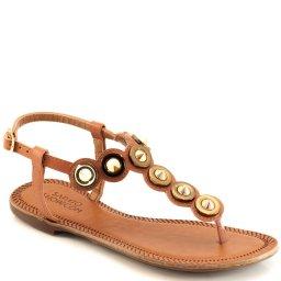 Sandália Rasteira Spikes Numeração Especial Sapato Show 383e
