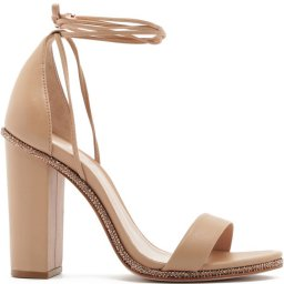 Sandália Salto Grosso Lace-Up Glam Schutz S208810001