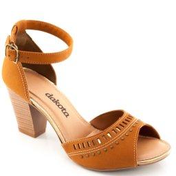 Sandalia Salto Robusto Dakota Z2223