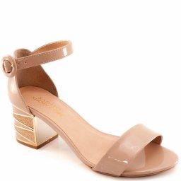 Sandalia Salto Robusto Sapato Show 04135