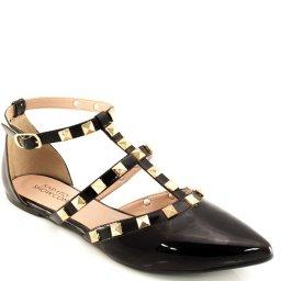 Sapatilha Spikes Envernizada Sapato Show 2101