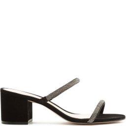 Sandália Tamanco Block Heel Arc Glam Verão Schutz S200010478