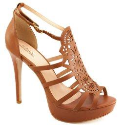 Sandalia Vazada Numeração Especial Sapato Show 74262e