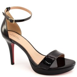 Sandalia Verniz Numeração Especial Sapato Show 12110e